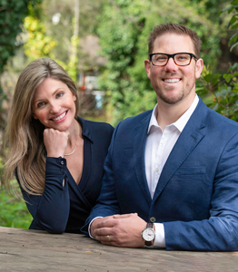 Scarlett and Daniel Wolford, Realtors for Condo Units in Santa Cruz, CA
